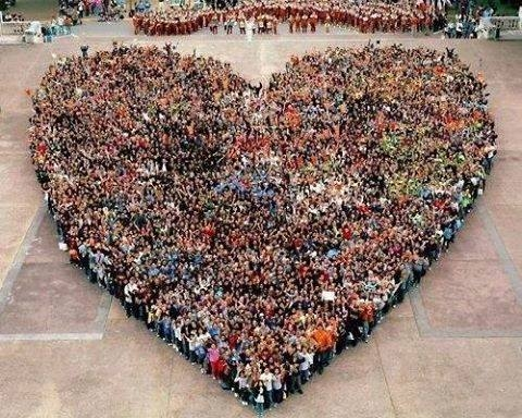 Καρδιά από αιμοδότες