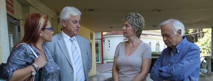 Επισκέψεις της Υφυπουργού Υγείας, Κατερίνας Παπακώστα, στην Τρίπολη.