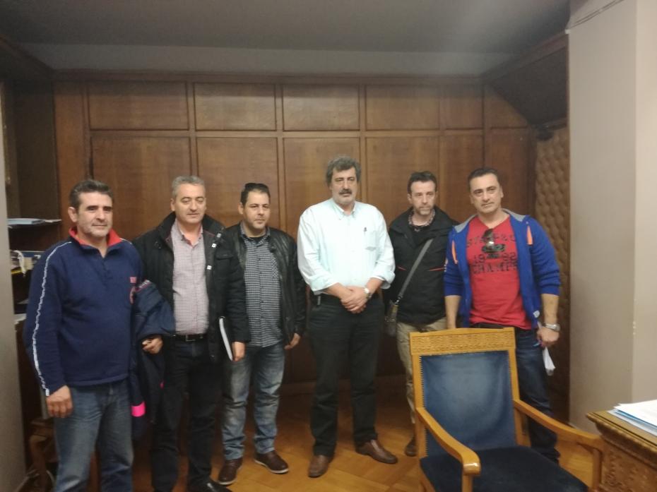 Συνάντηση του αναπληρωτή Υπουργού Υγείας με το Σωματείο ΕΚΑΒ Αθήνας