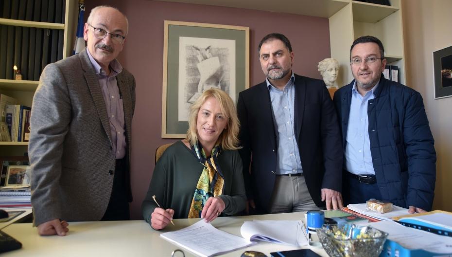Υπογραφή προγραμματικής σύμβασης μεταξύ Περιφέρειας Αττικής και ΓΝ Παίδων Πεντέλης