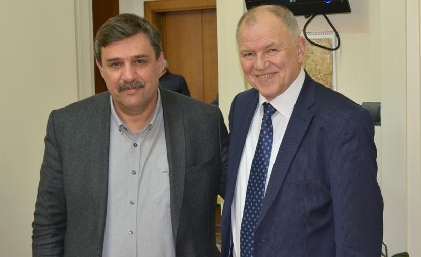 Συνάντηση του υπουργού Υγείας, Ανδρέα Ξανθού με τον Ευρωπαίο Επίτροπο Υγείας και Ασφάλειας Τροφίμων, Vytenis Andriukaitis