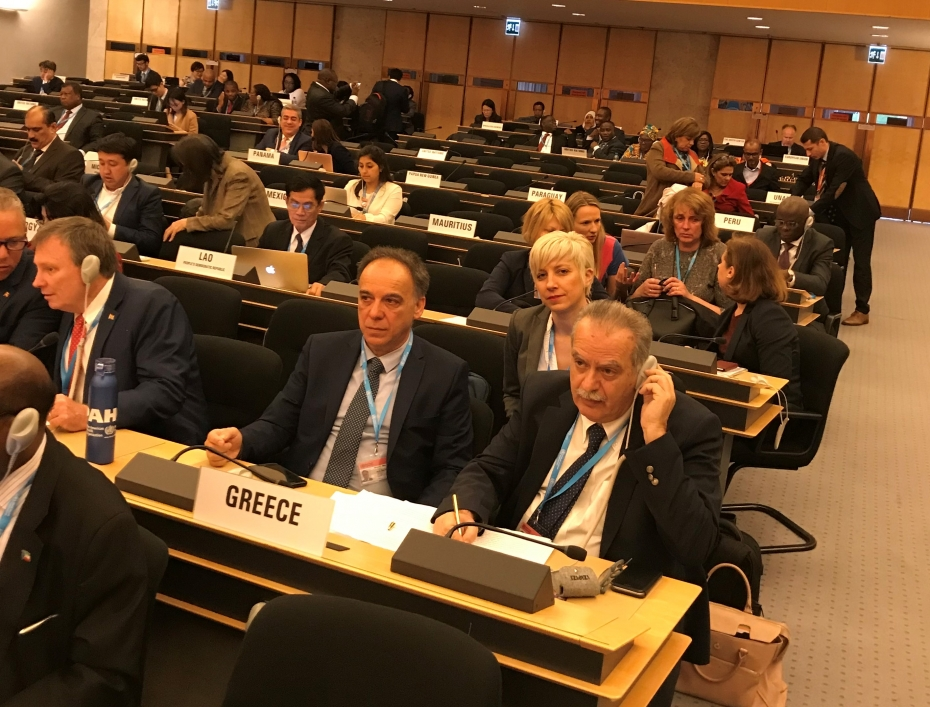 Η ομιλία του ΓΓΔΥ, Ιωάννη Μπασκόζου στην ολομέλεια της 72ης Γενικής Συνέλευσης του Π.Ο.Υ, στη Γενεύη με θέμα, Καθολική κάλυψη υγείας: να μη μείνει κανείς πίσω