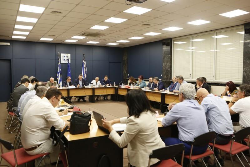 Συνεδρίαση ΚΕΣΥΠΕ υπό την προεδρία του Υπουργού Υγείας Βασίλη Κικίλια