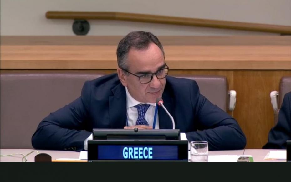 Συμμετοχή Υφυπουργού Υγείας Βασίλη Κοντοζαμάνη στη Συνάντηση Υψηλού Επιπέδου για την Καθολική Κάλυψη Υγείας στο πλαίσιο της 74ης Συνόδου της Ολομέλειας του Ο.Η.Ε.