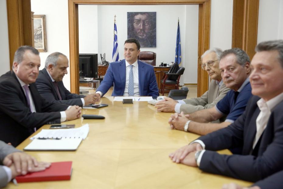 Δήλωση Υπουργού Υγείας Βασίλη Κικίλια μετά από τη συνάντηση με αντιπροσωπεία του ΚΕΘΕΑ