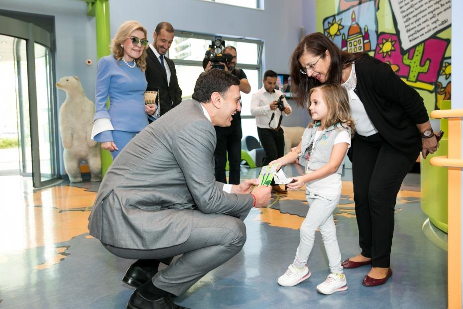 Επίσκεψη Υπουργού Υγείας Βασίλη Κικίλια στην Ογκολογική Μονάδα Παίδων