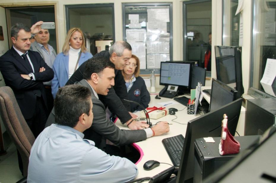 Επίσκεψη Υπουργού Υγείας Βασίλη Κικίλια στο ΓΝΘ