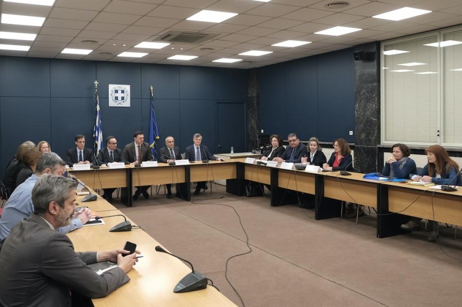 Συνεδρίαση Εθνικού Συμβουλίου Δημόσιας Υγείας