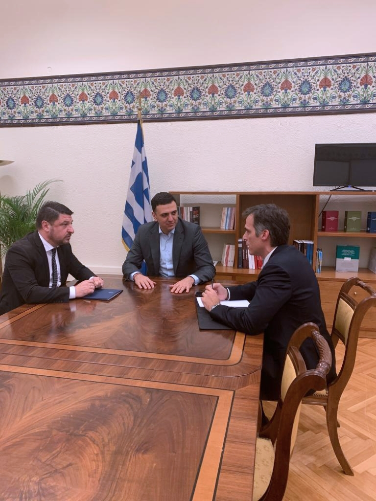 Συνάντηση Υπουργού Υγείας Βασίλη Κικίλια με τον Γ.Γ. Πολιτικής Προστασίας Νίκο Χαρδαλιά