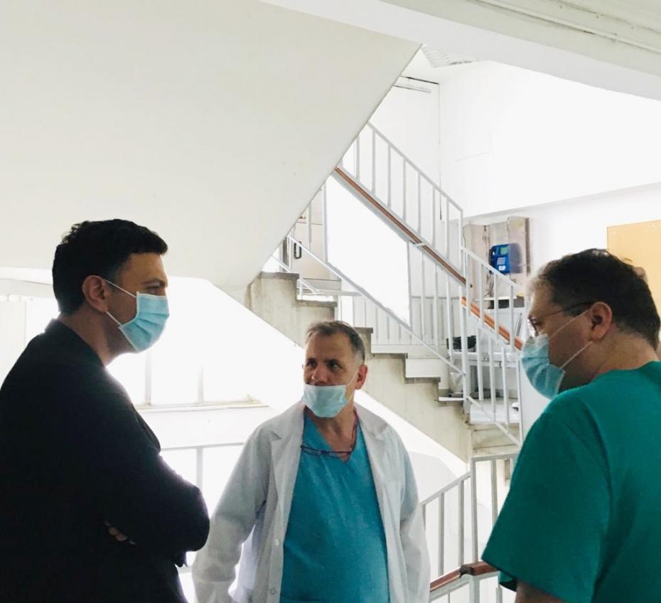 Δήλωση Υπουργού Υγείας Βασίλη Κικίλια μετά την επίσκεψή του στην εφημερία του ΓΝΑ