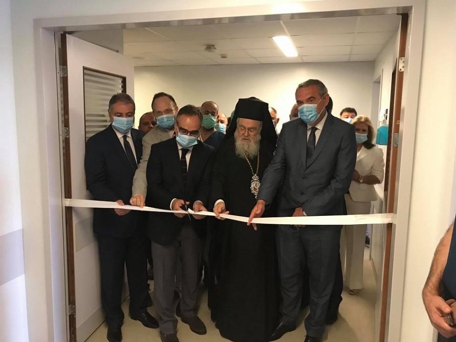 Εγκαίνια λειτουργίας της Μονάδας Εντατικής Θεραπείας ΓΝ Ζακύνθου - Χαιρετισμός Υφυπουργού Υγείας Βασίλη Κοντοζαμάνη