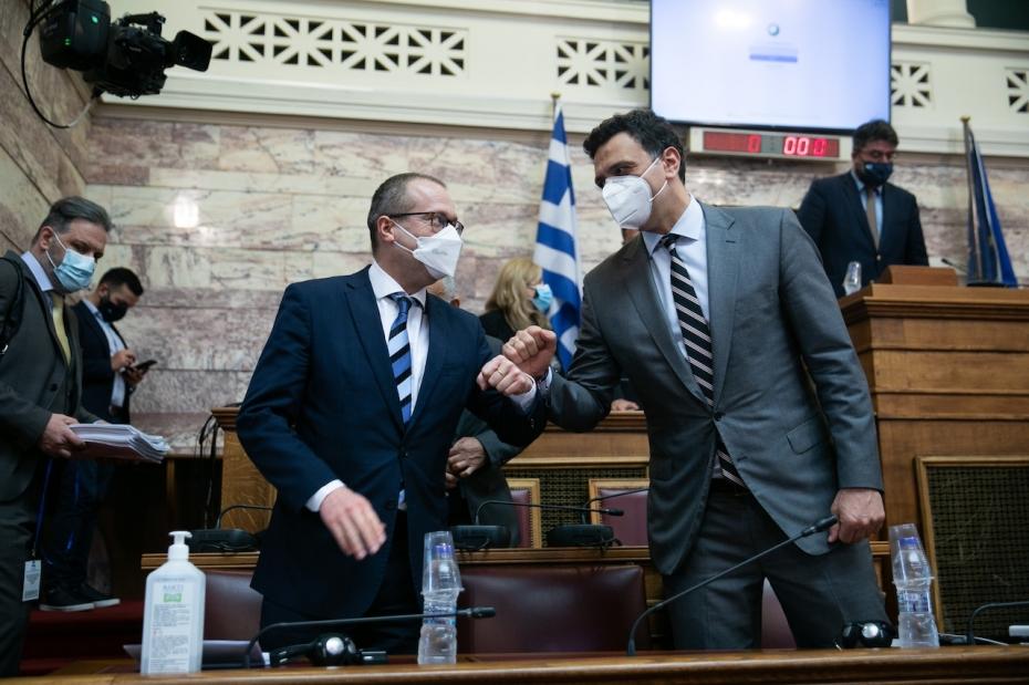 Σημεία ομιλίας Υπουργού Υγείας Βασίλη Κικίλια κατά την παρουσίαση στη Βουλή του πενταετούς σχεδίου δράσης για τη Δημόσια Υγεία