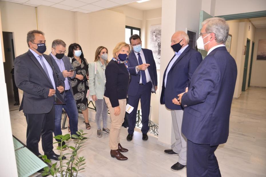 Επίσκεψη Αναπληρώτριας Υπουργού Υγείας Μίνας Γκάγκα στη Χίο