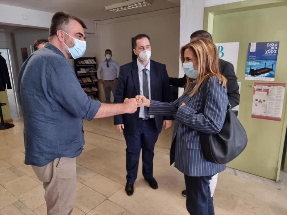 Επίσκεψη της Υφυπουργού Υγείας Ζωής Ράπτη στους χώρους του Προγράμματος Προαγωγής Αυτοβοήθειας και στο Ελληνικό Κέντρο Ψυχικής Υγιεινής και Ερευνών (ΕΚΕΨΥΕ) της Θεσσαλονίκης