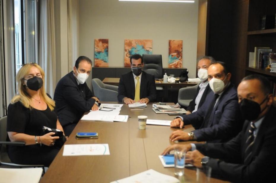 Συναντήσεις Υπουργού Υγείας Θάνου Πλεύρη στη Θεσσαλονίκη