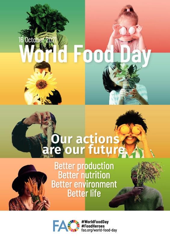 Παγκόσμια Ημέρα Επιστιτισμού - Διατροφής - 16 Οκτωβρίου2021